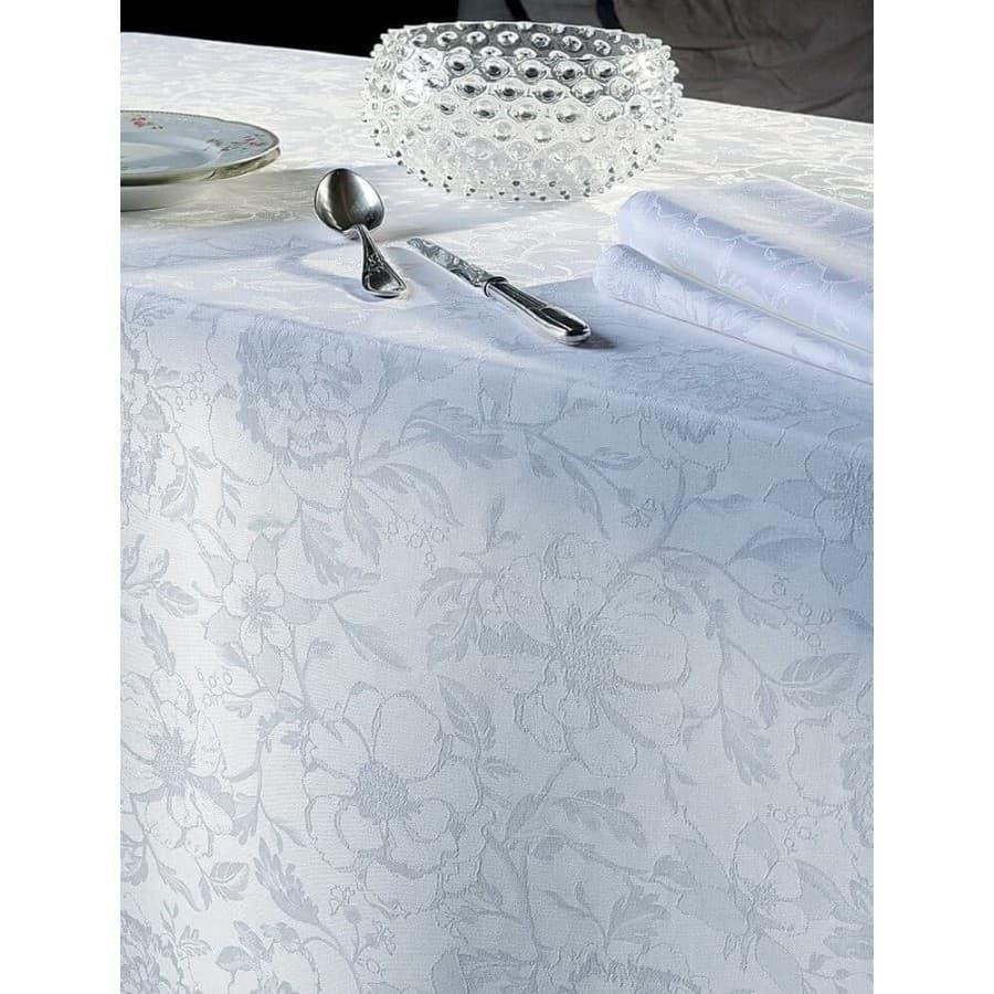Скатерть на стол Garnier Thiebaut Charmes Blanc