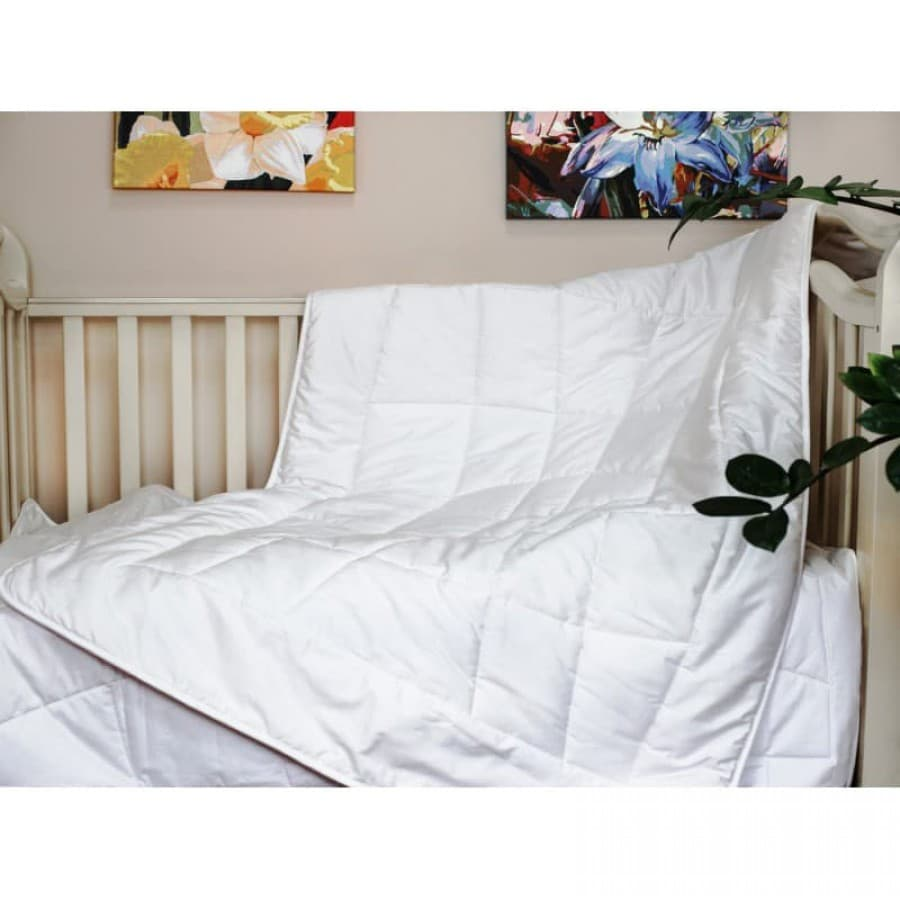 Набор BABY COTTON GRASS подушка и одеяло всесезонное
