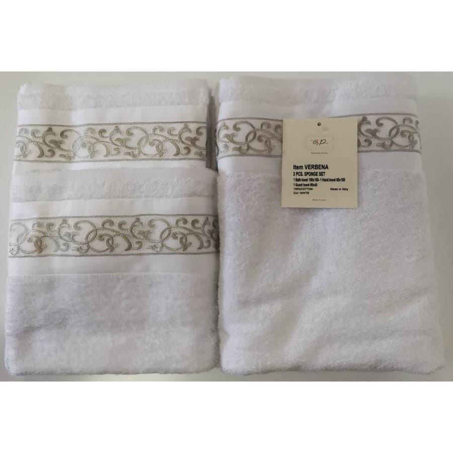 Набор полотенец Palombella VERBENA white