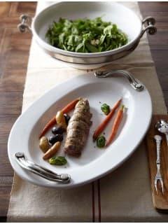 Блюдо овальное Arte Italica ( Италия) Tuscan керамика