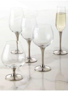 Бокал для красного вина хрустальное стекло,олово