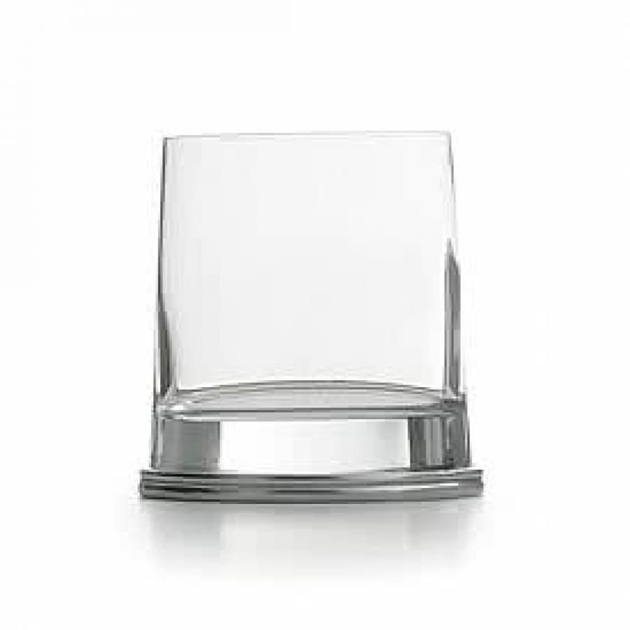 Стакан для виски хрустальное стекло,олово