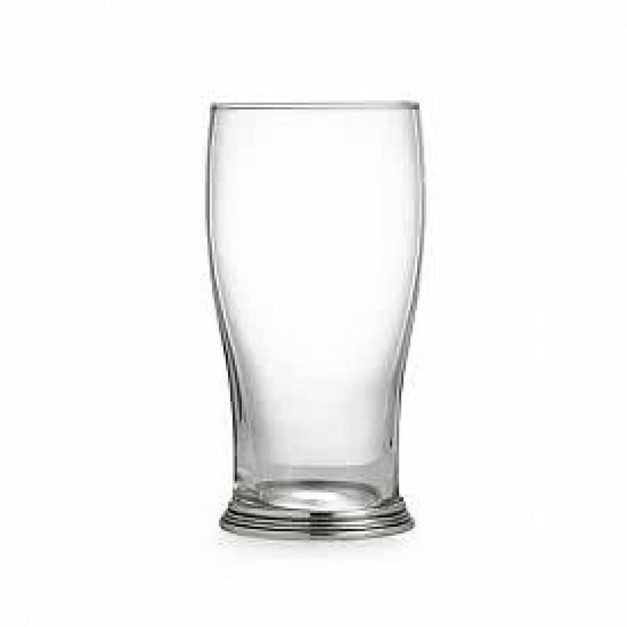 Бокал для пива хрустальное стекло,олово