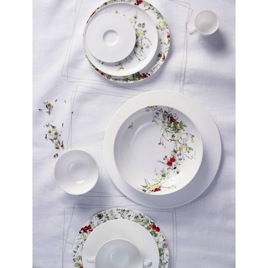 Тарелки костяной фарфор Brillance Fleurs Sauvages (Германия)