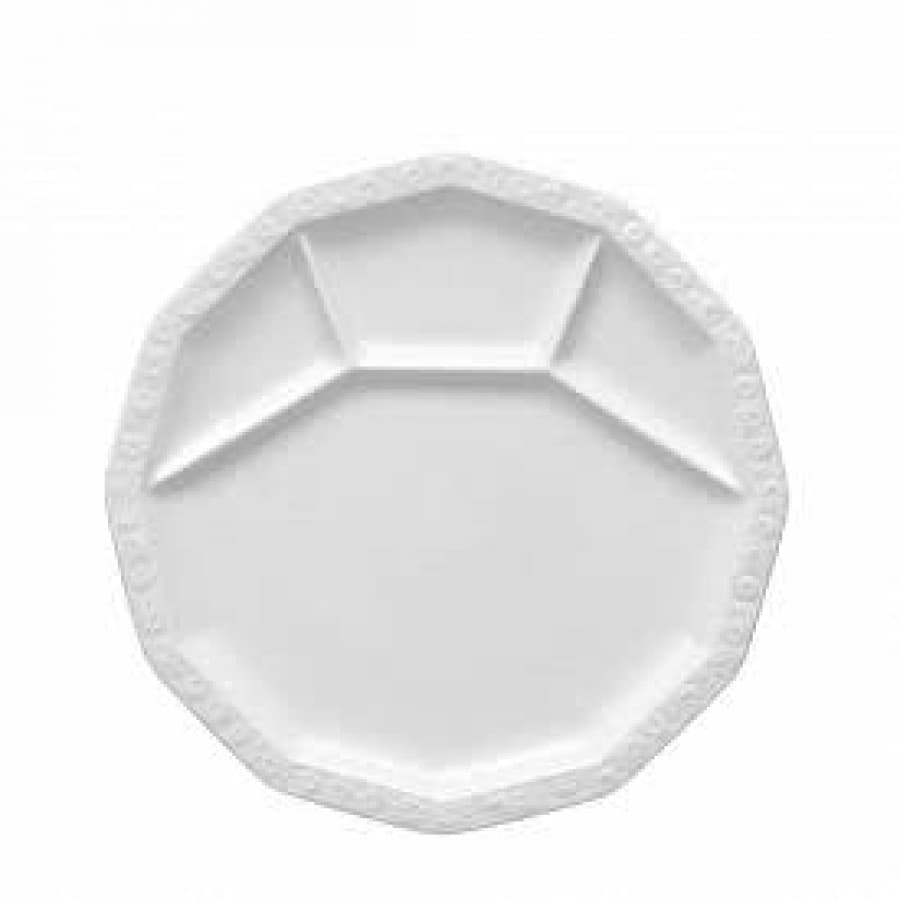 Блюдо раздельное Maria White Rosenthal (Германия) фарфор