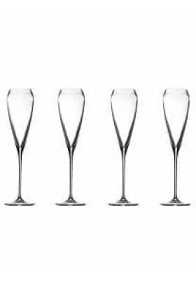 Набор бокалов для шампанского TAC Crystal 4 шт