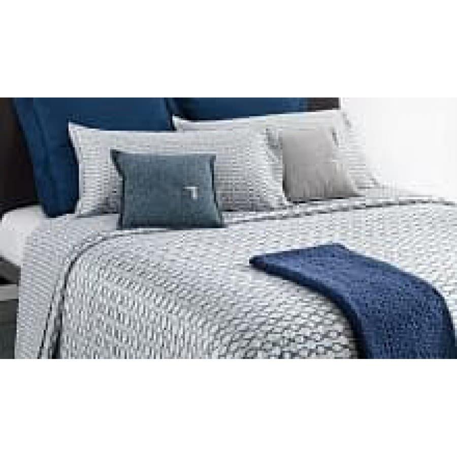 Постельное белье Mirabello BRACELET U40 Blu голубой