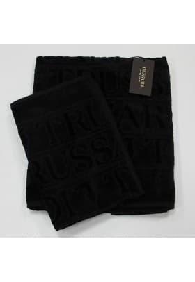Полотенца Trussardi OVERLOGO 005 Black черный